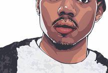 Rapper artwork