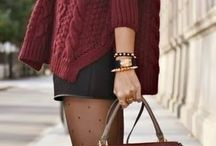 Wear Red And Bordeaux