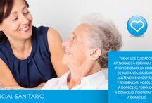 Asistencial Sanitario / Cuidado de personas mayores, colectivos especiales, canguros. Asesor familiar, ayudas técnicas y para la vida diaria, canguros, técnicos socio sanitario, enfermería. Todo para nuestros mayores ---------------