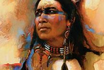 American native portraits