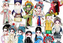beijing opera/opera de Pequim