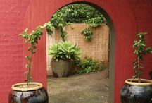 Landscaping - archways