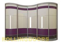 Радиусные шкафы-купе / Мы производим неповторимые радиусные шкафы-купе!