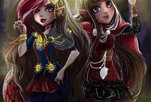 ever after high / masal kahramanları