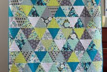 Equilateral Triangle Quilts / by Megan Todd Rodenburg