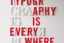 Typography / by Gavin McMahon