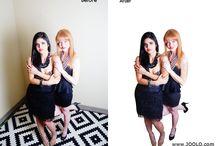 Fashion Glamor Model Photo Editing / Retouching