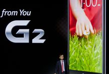 LG G2 / Images from the LG G2 event in New York on August 7th