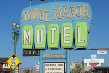 Googie Road and Neon Signs