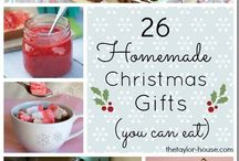 Edible Christmas Gifts / Make your own edible gifts to give away this Christmas. Something treasured and home made