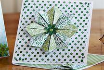 Easel fold cards
