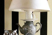 poot voor een lamp