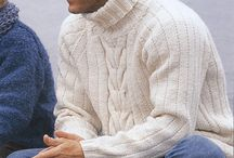 Pánská móda - knitted and crochet for men inspiration