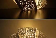 Lampe i tre