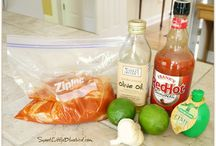 MARINADE*SAUCES*DRESSINGS / by K.j. Hayberger