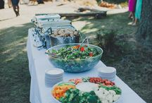 BBQ - backyard casual to an elegant event / A fun rehearsal dinner or wedding reception theme that always satisfies