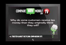 Recycling videos / Video interviews with the leading gadgets recyclers from CompareMyMobile.com - providing an insight into the mobile phone recycling world.
