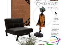 Déco exotique / Inspirez-vous d'une oeuvre exclusive pour créer un décor exotique et personnalisé