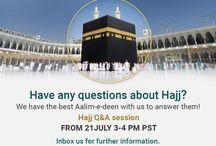 Hajj / Hajj related informative videos and images. #hajjsession #pilgrimage #qforquran