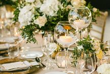Esküvői dekoráció (fehér) - Wedding decoration (white)