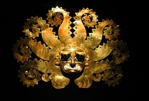 South America / ancient jewellery, clothes, buildings, etc