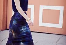 pencil skirts / by Heather