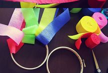 Crafty: Crepe Paper Fun / by Sarah Davis