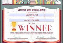 Nanowrimo through the years / Nanowrimo: NAtional NOvel WRIting MOnth November is write 50k words in 30 days challenge. No editing, no rethinking, just write! I have succeeded 3 years out of 5.