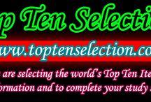 Top Ten Selection / Top Ten around the world