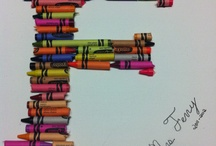 My Creative Side Shows Through / Trials of things found on pintrest  / by Kelli Caras