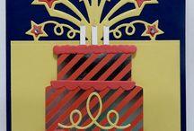 birthday cards four