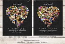 Hearts / Heart Collages, Heart Photo Collage, Hearts