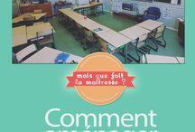 Aménagement de la classe