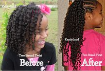 Children Natural Hair / by African American Hairstyles