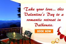 """Honeymoon in Himachal famous destinations / """"Anyone can catch your eye, but it takes someone special to catch your heart"""".  Take your love…your heart, this Valentine's Day to a romantic retreat in beautiful destinations of Dalhousie and Manali. Enjoy the picturesque charm and a truly unforgettable experience in the Himalayas."""