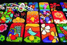 percheros multicolor