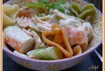 Les salades / Salades composées