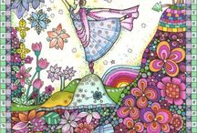 doodle doodle doodle -dee / zentangle and doodles