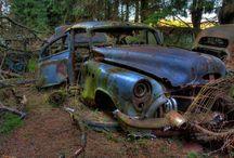 Car - Graveyard  , Auto Friedhof !