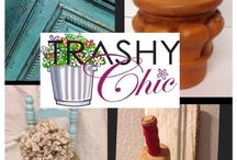Trashy Chic / Transforming previously unloved pieces into unique furnishings and accessories!  Located in Suite 810 Arapaho. / by Richardson Mercantile
