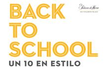 Un 10 en estilo #BackToSchool