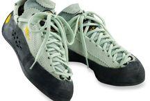 Climbing shoes!