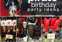 Patrick's 6th pirate party