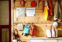 Idea for garage storage