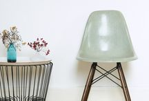 DSW Eames / Chaises Charles & Ray Eames DSW
