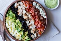 Salads and more salads / Healthy choices