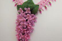 Beaded Flowers / by Allene Nicolai