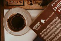 books / coffee
