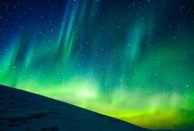 Nature. Northern Lights / Northern Lights