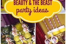 Beauty and the beast bday party
